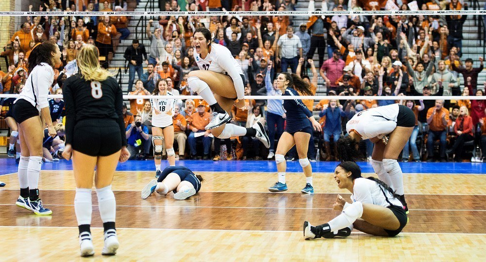 Texas Gets Revenge Over The Huskers In Stunning Semifinal Sweep